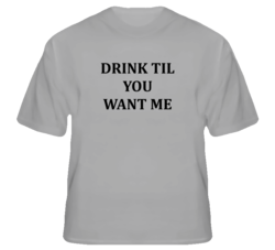 Drink baby, drink T Shirt